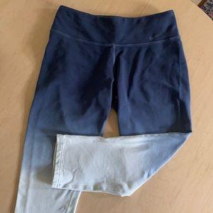 Nike dry fit hi waist blue hombre Capri leggings